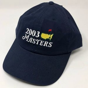 2003 The Masters Tournament National Golf Hat